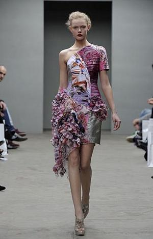 Mary Katrantzou Fashion Show London Fashion Week