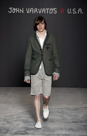John Varvatos and John Varvatos Star - Spring 2009 Fashion Show Runway Photos