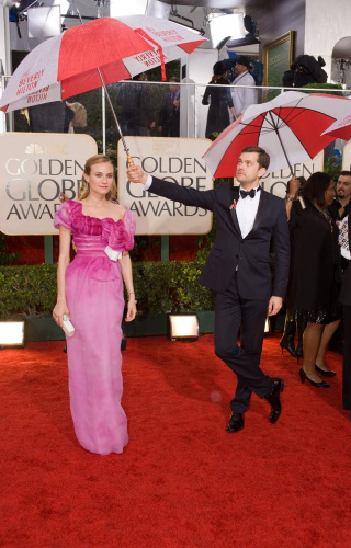 Golden Globe Awards Red Carpet Fashion Photos 2010