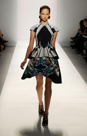 Michael Angel- Spring 2010 runway