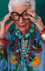 Iris Apfel, Personal Style Inspiration on Exhibition