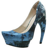Christian Siriano for Payless To the Point Printed Platform Pump