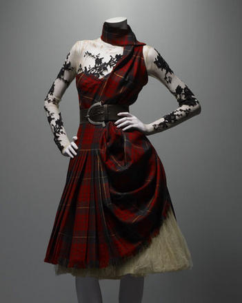 Alexander McQueen Ensemble, Widows of Culloden, autumn/winter 2006–7 Courtesy of The Metropolitan Museum of Art, Photograph © Solve Sundsbo / Art + Commerce