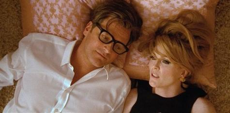 Colin Firth and Julianne Moore in a still from Tom Ford's film, A Single Man