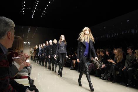 Burberry Finale
