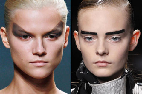 The boldest extreme brows