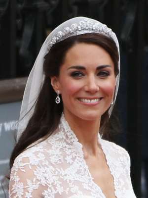 Catherine, Duchess of Cambridge's hair is classic in an Audrey Hepburn kind of way