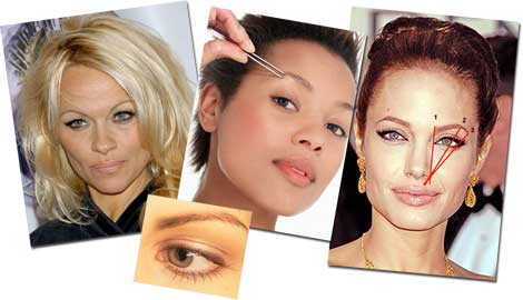 Eyebrows in every shape and thickness to flatter your face