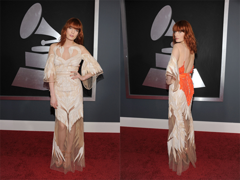 Florence Welch in Givenchy Haute Couture by Riccardo Tisci