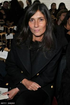 Emmanuelle Alt attends the Jean-Paul Gaultier show as part of the Paris Haute Couture Fashion Week Spring/Summer 2011