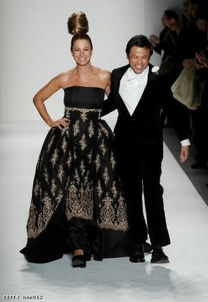 Jill Zarin and Zang Toi