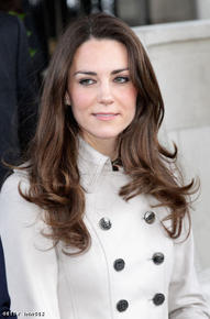 Kate Middleton on a visit to Northern Ireland.