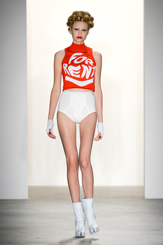 Jeremy Scott spring / summer 2011 collection