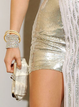 Jennifer Lopez dressed in Versace spring 10