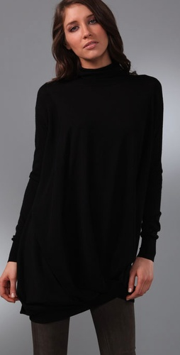 JNBY  Drape Turtleneck Tunic Sweater from Shopbop.com