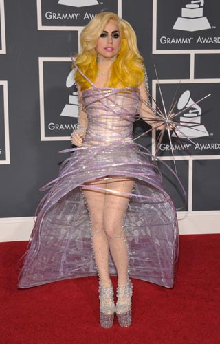 Lady Gaga in Armani Prive