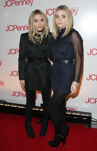 The Olsen Twins at the JCPenney 'Discover Spring Style' event