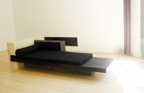 Rick Owens Furniture As Art Still On View At Salon 94 With Pavane