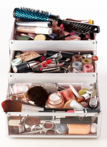 Overflowing cosmetics? It's time to spring clean!