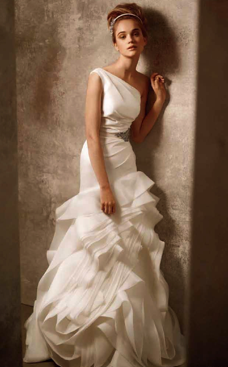 Gorgeous and affordable wedding dress from White by Vera Wang