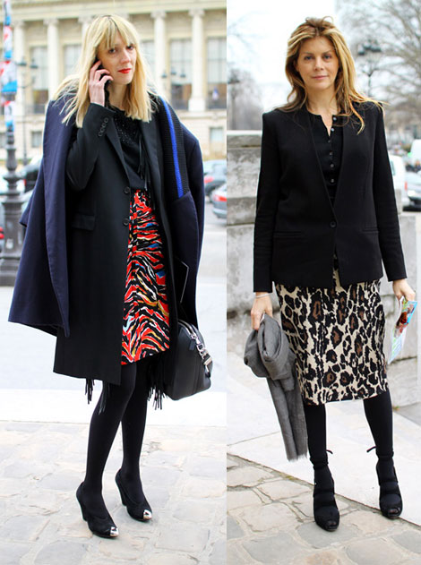 Paris Fashion Week Steet Style- This is how you wear animal print skirts