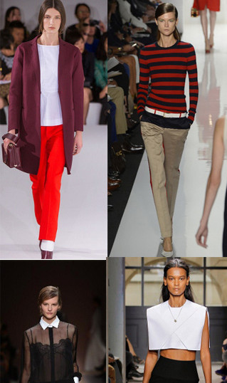 Spring highlights from Jil Sander, Ralph Lauren, Balenciaga, and Valentino
