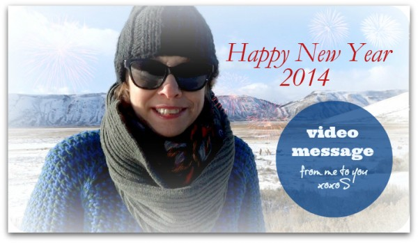 Happy New Year 2014 video message from Sharon Haver
